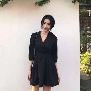 (Black) Classic-R.W.S Collar Dress