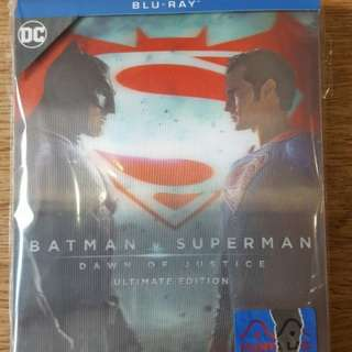 Batman vs Superman Batman v Superman Dawn of Justice League Blu-ray SteelBook from Manta Lab