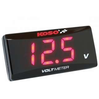 Red KOSO Voltmeter