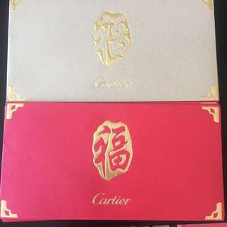 Cartier red packets