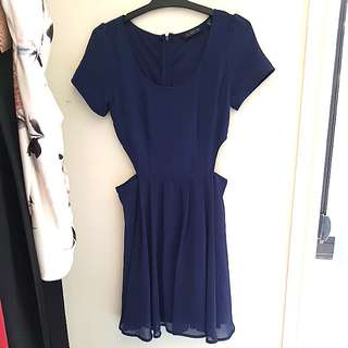 Glassons Navy Blue Dress