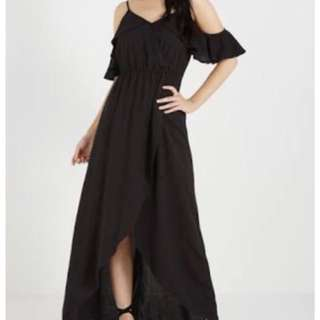 Cotton on Black could shoulder dress