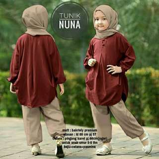 NUNA SETELAN KIDS / ANAK MUSLIM