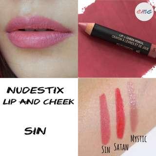 BN Nudestix Lip and Cheek Pencil Sin