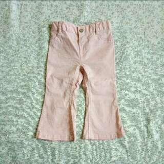 Pink Gartered Pants