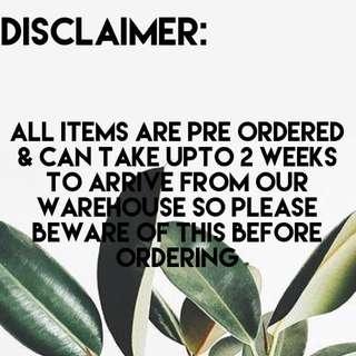DISCLAIMER - PLEASE READ DESCRIPTION
