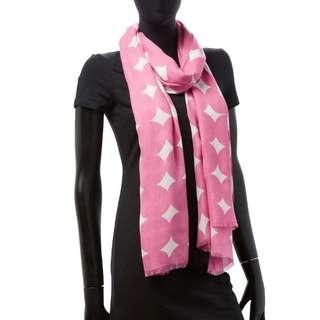 NEW Kate Spade Authentic Syal Scarf Shawl Hijab pink original
