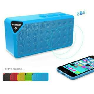 FREE POS Ready Stock Super Bass Portable Mini Bluetooth Speaker Support SD Card Pendrive