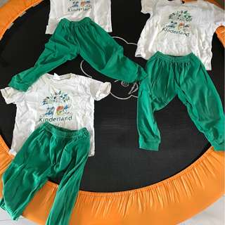 Kinderland PE Uniform