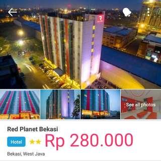 Rental Hotel Red Planet Bekasi