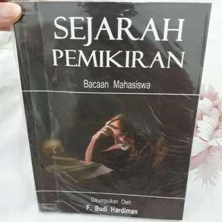 Buku Filsafat Sejarah Pemikiran F. Budi Hardiman