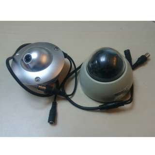 兩個監控攝錄機頭