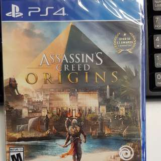 Assassin's Creed Origins PS4 sealed