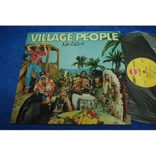 Village People Go West 12 inch Vinyl LP Record Piring Hitam