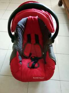Sweetheart carseat