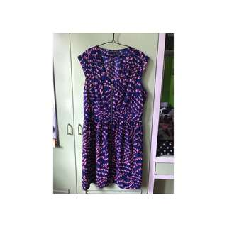 Purple Plus Size Dress