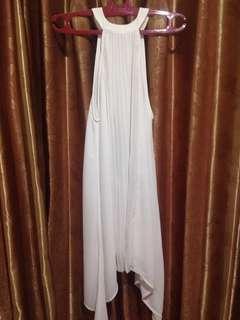 White Dress halterneck