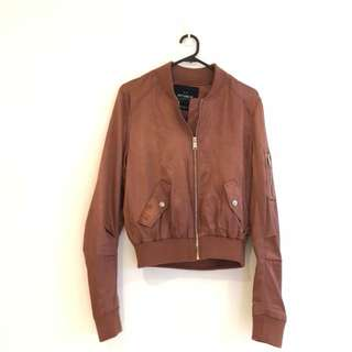 Cotton on copper jacket