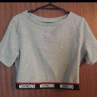 Moschino crop top