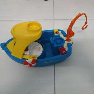 Boat fisher price little people