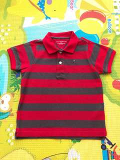 Authentic Tommy Hilfiger Polo Tee 3T