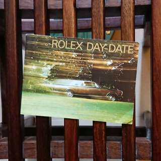ROLEX Vintage Day-Date18238 Booklet New Old Stock Printed in 1999