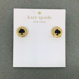Kate Spade New York Sample Earrings 黑色配金色耳環