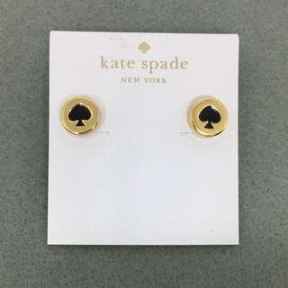 Kate Spade New York Sample Earrings 黑色配金色耳環