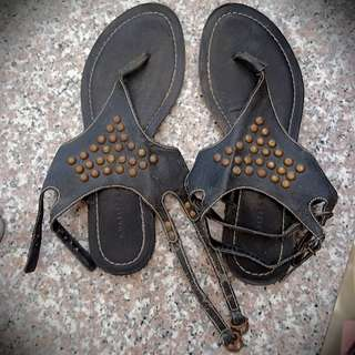 Charles and Keith Studded Sandals