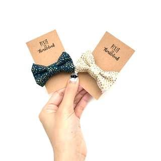 Shimmery Beige Hair Clip | Hair Tie | Mum & Daughter Hair Accessories | Handmade