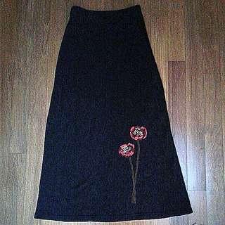 Unique Design Lace Long Skirt