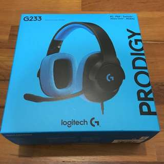 G233 Logitech gaming headset