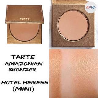 Tarte Deluxe Amazonian Clay Matte Waterproof Bronzer in Hotel Heiress
