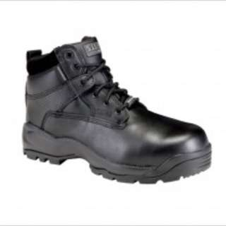 "For Sale 5.11 tactical boots ATAC 6"" shield side zip boot steel toe and waterproof for 6k neg"