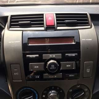 Honda city 2013 Stock panel with stereo
