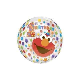 "16"" Anagram Orbz Sesame Street Elmo Balloon"