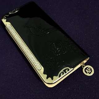 Gold Black Wallet