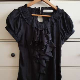 Black Blouse in size S