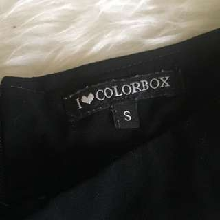 colorbox culotte (black)