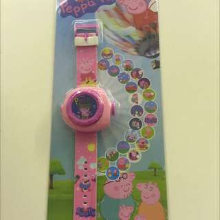 Birthday Party Gifts: Peppa Pig Projector Watch