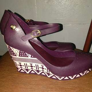 Authentic Melissa wedge shoes