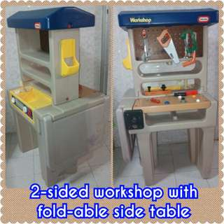 Little Tikes 2-sided Workshop
