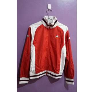 Kappa Bomber Jacket in Red