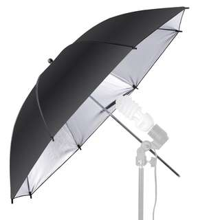 "Pxel UMBS84 33"" 84cm Black and Gold Reflective Umbrella Photography"
