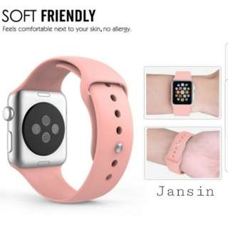 -Instock- Apple iwatch strap pinkish style