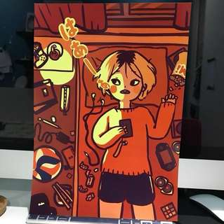 Haikyuu! Kenma Kozume fanart (a3 print)