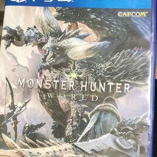 PS4 Monster Hunter mhw