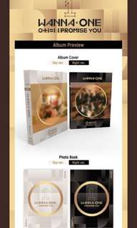 PREORDER WANNA ONE I PROMISE YOU