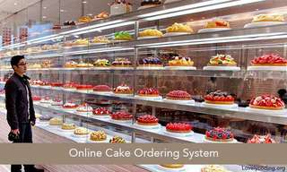 Bakery management system with online shopping website