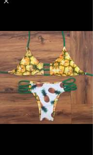 Double sided Pineapple Bikinis